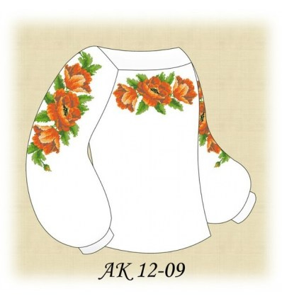 Заготовка дитячої блузки АК 12-09