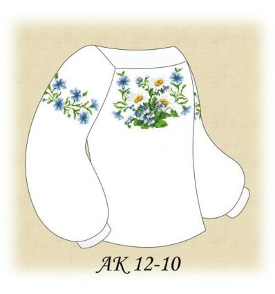 Заготовка детской блузки АК 12-10