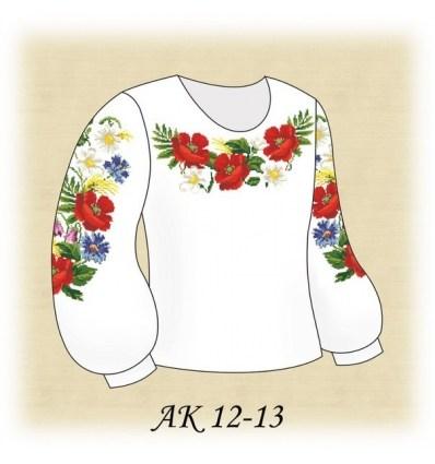 Заготовка дитячої блузки АК 12-13