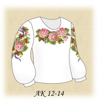 Заготовка детской блузки АК 12-14
