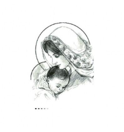 Мадонна с младенцем ТО-018