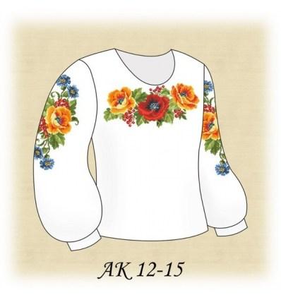 Заготовка детской блузки АК 12-15