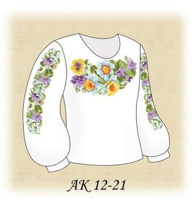 Заготовка дитячої блузки АК 12-21