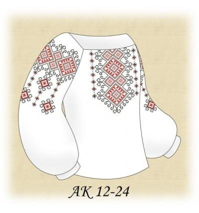 Заготовка детской блузки АК 12-24