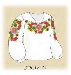 Заготовка детской блузки АК 12-25