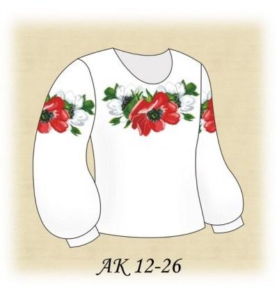Заготовка детской блузки АК 12-26