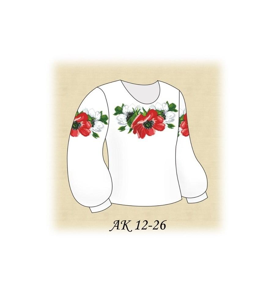 Вишивка бісером Заготовка дитячої блузки АК 12-26 купити недорого в... 2062d877d32a6