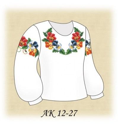 Заготовка детской блузки АК 12-27
