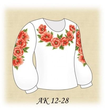 Заготовка детской блузки АК 12-28