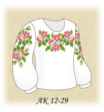 Заготовка детской блузки АК 12-29