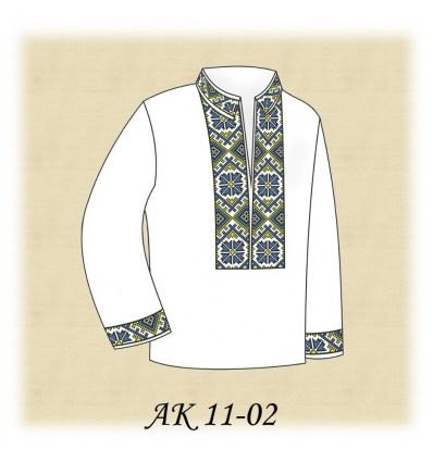 Заготовка детской рубашки АК 11-02