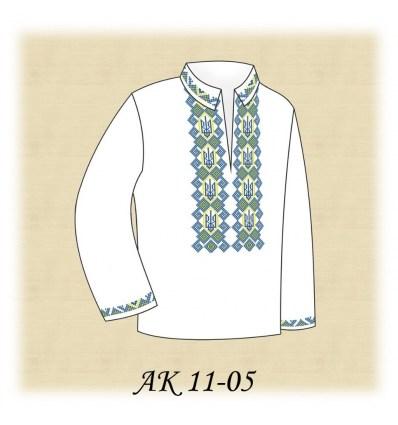 Заготовка детской рубашки АК 11-05