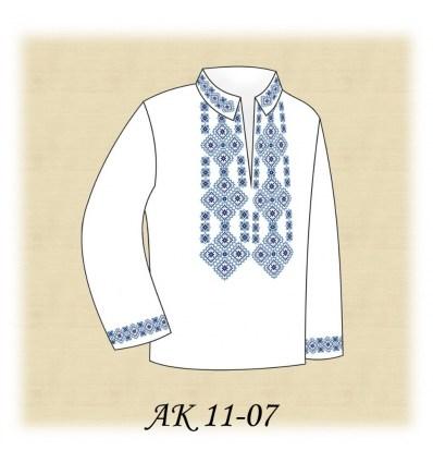 Заготовка детской рубашки АК 11-07