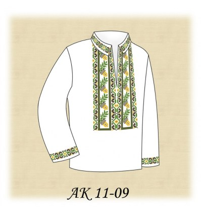 Заготовка дитячої сорочки АК 11-09