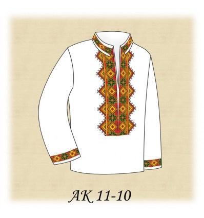 Заготовка детской рубашки АК 11-10
