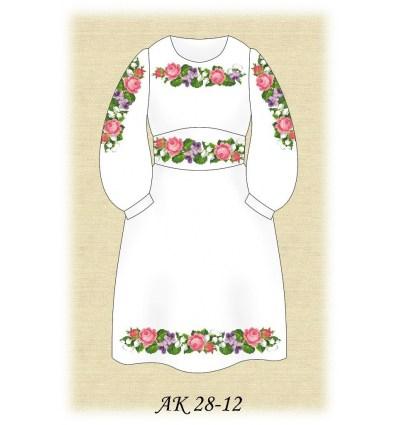 Платье детское АК 28-12