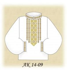 Заготовка мужской рубашки АК 14-09