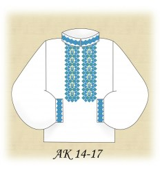 Заготовка мужской рубашки АК 14-17