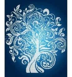 Дерево изобилия Серебро ЧВ-5329