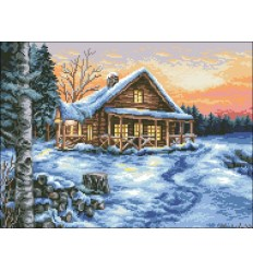 Домик зимой МЦ3-010