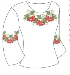 Заготовка детской блузки