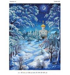 Зимний вечер DANA-346(н)