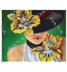 Дама в шляпке DANA-2155