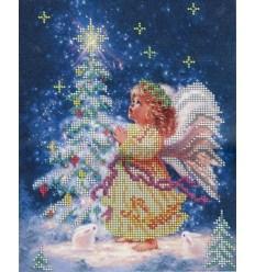 Рождественский ангел ЧВ-3077(н)