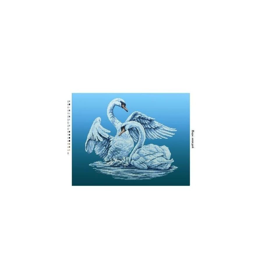 Значение вышивки лебединая пара 43