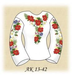 Заготовка блузки АК 13-42