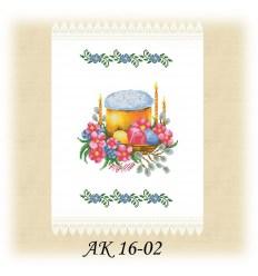 Заготовка рушника АК 16-02