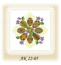 Заготовка салфетки АК 22-05