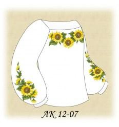 Заготовка детской блузки АК 12-07