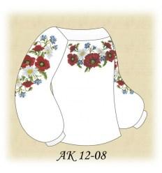 Заготовка детской блузки АК 12-08