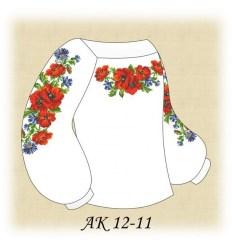 Заготовка детской блузки АК 12-11