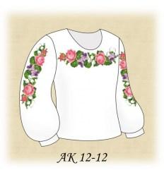 Заготовка детской блузки АК 12-12