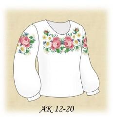 Заготовка дитячої блузки АК 12-20