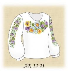 Заготовка детской блузки АК 12-21