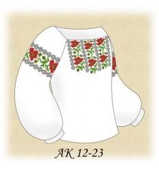 Заготовка детской блузки АК 12-23