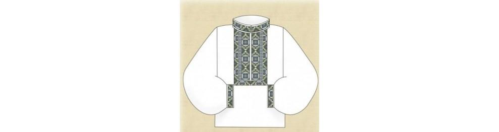 Заготовки мужских рубашек